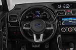 Car pictures of steering wheel view of a 2019 Subaru Forester Luxury 5 Door SUV