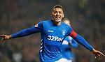 27.02.2019: Rangers v Dundee: James Tavernier celebrates his goal