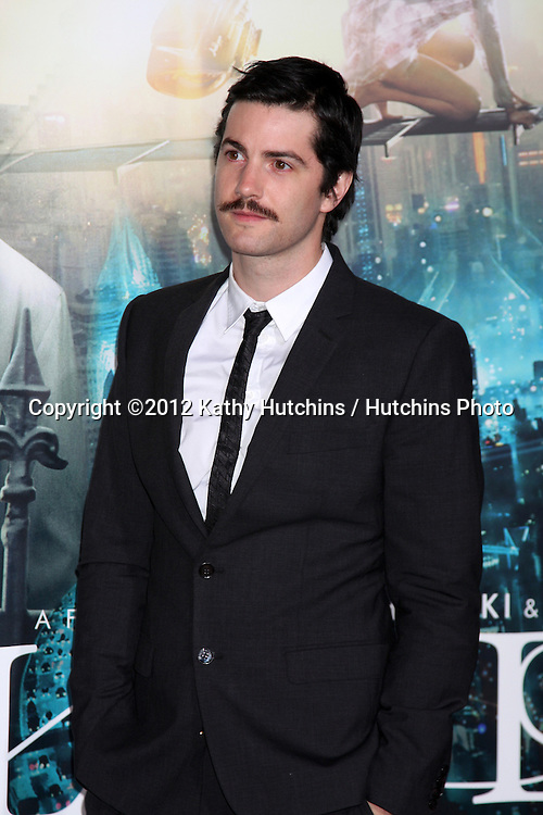 """LOS ANGELES - OCT 24:  Jim Sturgess arrives at the """"Cloud Atlas""""  Los Angeles Premiere  at Grauman's Chinese Theater on October 24, 2012 in Los Angeles, CA"""