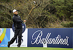 JEJU, SOUTH KOREA - APRIL 22:  Anthony Kim of USA tees off on the 15th hole during the Round One of the Ballantine's Championship at Pinx Golf Club on April 22, 2010 in Jeju island, South Korea. Photo by Victor Fraile / The Power of Sport Images