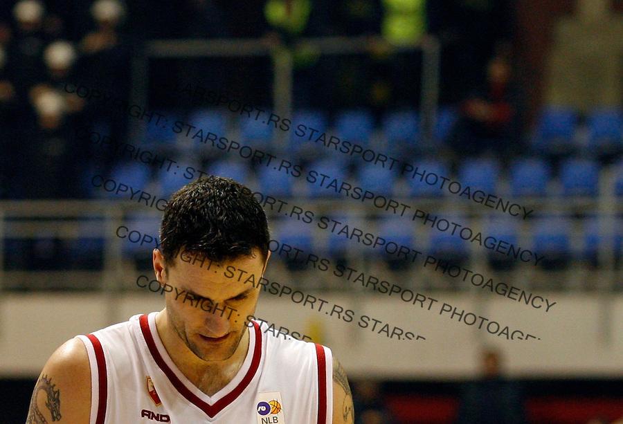 Kosarka, NLB Liga, season 2006/07Crvena Zvezda Vs. PartizanMilan GurovicBeograd, 04.02.2007.FOTO: Srdjan Stevanovic