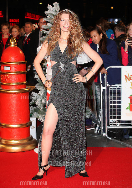 Melanie Masson arriving for the Nativity 2: Danger In The Manger Premiere, at Empire Leicester Square, London. 13/11/2012 Picture by: Alexandra Glen / Featureflash