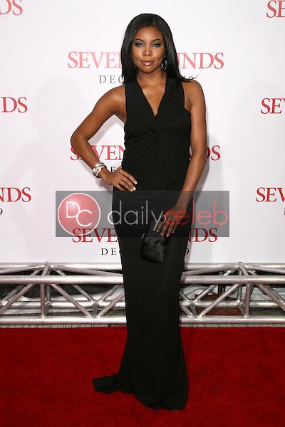 Gabrielle Union <br /> at the Los Angeles Premiere of 'Seven Pounds'. Mann Village Theatre, Westwood, CA. 12-16-08<br /> Dave Edwards/DailyCeleb.com 818-249-4998
