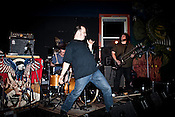 September 11, 2009. Durham, NC..Tooth's last show at the Duke Coffeehouse, with opening band Grappling Hook.