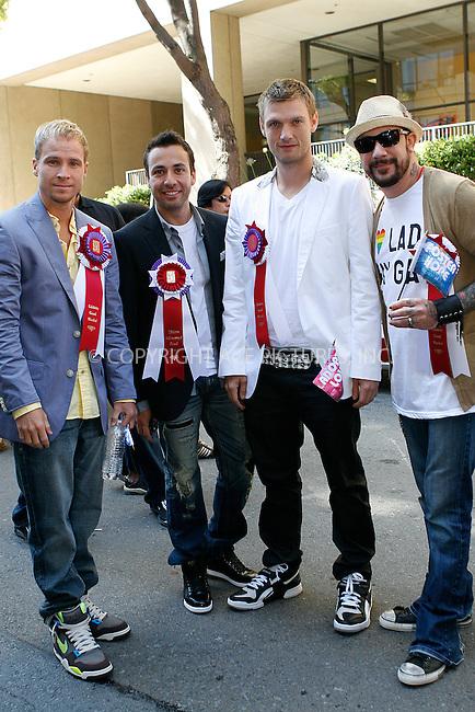 WWW.ACEPIXS.COM . . . . .  ....June 27 2010, San Francisco....The Backstreet Boys attended the Gay Pride parade on June 27 2010 in San Francisco....Please byline: NANCY RIVERA- ACEPIXS.COM.... *** ***..Ace Pictures, Inc:  ..Tel: 646 769 0430..e-mail: info@acepixs.com..web: http://www.acepixs.com