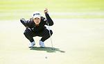 Ing Iadpluem during her final round.Jennian Homes Charles Tour, Carrus Open, Tauranga Golf Club, Tauranga, New Zealand, Thursday 10 October 2019. Photo John Borren/www.bwmedia.co.nz