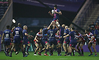Stade Francais Paris win a line out during todays game<br /> <br /> Photographer Rachel Holborn/CameraSport<br /> <br /> European Rugby Challenge Cup Final - Gloucester Rugby v Stade Francais Paris - Friday 12th May 2017 - BT Murrayfield, Edinburgh<br /> <br /> World Copyright &copy; 2017 CameraSport. All rights reserved. 43 Linden Ave. Countesthorpe. Leicester. England. LE8 5PG - Tel: +44 (0) 116 277 4147 - admin@camerasport.com - www.camerasport.com