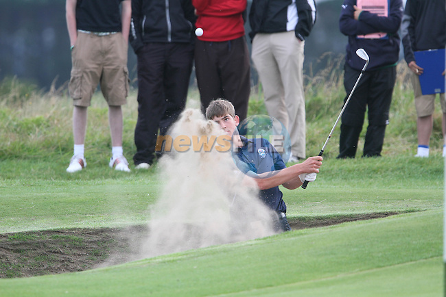 Bradley Nei (SCO) on the Final Day of the 2012 Boys Home Internationals at Co.Louth Golf Club in Baltray, Co.Louth...(Photo credit should read Jenny Matthews/NEWSFILE)...