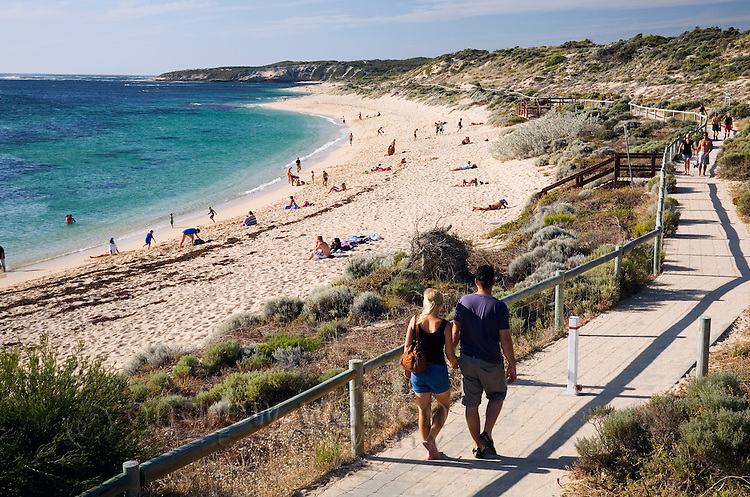 Prevelly Park Beach.  Margaret River, Western Australia, AUSTRALIA.