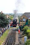 Heritage steam railway, Sheringham station, North Norfolk Railway, England, UK
