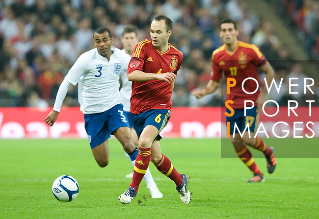 England vs Spain during the International friendly match at the Wembley Stadium on November 12, 2011 in Rio de Janeiro, Brazil. Photo by Juan Flor / Power Sport Images.
