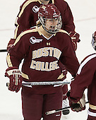 Alex Carpenter (BC - 5) - The Northeastern University Huskies defeated Boston College Eagles 4-3 to repeat as Beanpot champions on Tuesday, February 12, 2013, at Matthews Arena in Boston, Massachusetts.