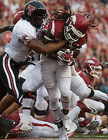 HAWGS ILLUSTRATED JASON IVESTER<br /> 09-19-15 Arkansas vs Texas Tech football