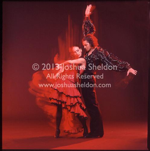 Flamenco dancers