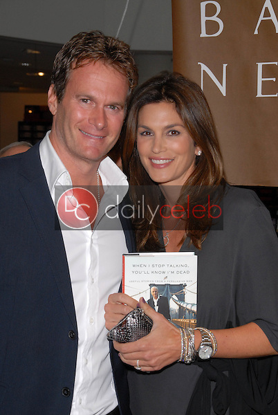 Rande Gerber and Cindy Crawford<br />