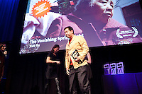 Amsterdam, 25 november 2011.International Documentary Filmfestival Amsterdam.IDFA Awards at Escape Club.Xun Yu.IDFA Award First Appearance for 'The Vanishing Spring Light'.Photo by Felix Kalkman