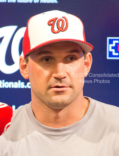 All-Star Washington Nationals first baseman Ryan Zimmerman poses for a photo prior to the game against the New York Mets at Nationals Park in Washington, D.C. on Monday, July 3, 2017.<br /> Credit: Ron Sachs / CNP<br /> (RESTRICTION: NO New York or New Jersey Newspapers or newspapers within a 75 mile radius of New York City)