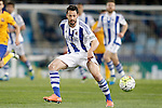 Real Sociedad's Alberto de la Bella during La Liga match. April 9,2016. (ALTERPHOTOS/Acero)