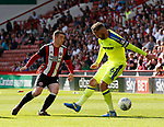\su4 and Richard Keogh of Derby County during the Championship match at Bramall Lane, Sheffield. Picture date 26th August 2017. Picture credit should read: Simon Bellis/Sportimage