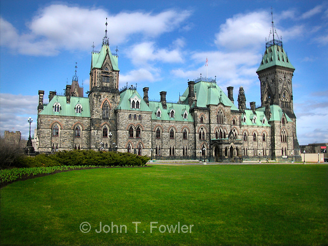 East Block of Parliament, Canada