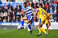 Garath McCleary of Reading controls the ball ahead of Nathan Byrne of Wigan Athletic during Reading vs Wigan Athletic, Sky Bet EFL Championship Football at the Madejski Stadium on 9th March 2019