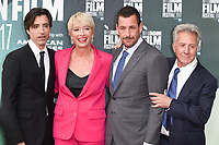 "director, Noah Baumbach, Emma Thompson, Adam Sandler and Dustin Hoffman<br /> arriving for the London Film Festival 2017 screening of ""The Meyerowitz Stories"" at the Embankment Gardens Cinema, London<br /> <br /> <br /> ©Ash Knotek  D3319  06/10/2017"