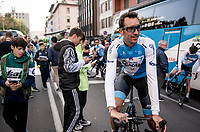 After 19 years in the pro peloton, Ruben Plaza (ESP/Israel Cycling Academy) is about to start his very last race as a pro<br /> <br /> 113th Il Lombardia 2019 (1.UWT)<br /> 1 day race from Bergamo to Como (ITA/243km)<br /> <br /> ©kramon