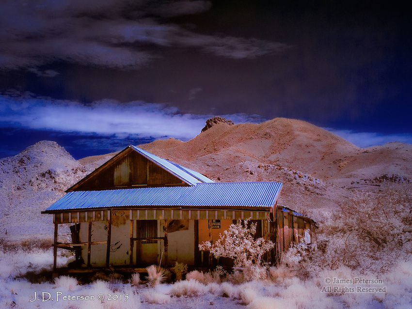 Paradise Misplaced #4: Dos Cabezas, Arizona (Infrared)