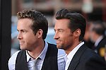 Ryan Reynolds & Hugh Jackman at The Twentieth Century Fox L.A. Screening of X-Men Origins - Wolverine held at The Grauman's Chinese Theatre in Hollywood, California on April 28,2009                                                                     Copyright 2009 Debbie VanStory/RockinExposures