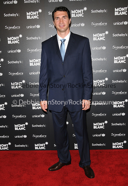 Wladimir Klitschko at The Montblanc & Signature Cultural & Charitable Photo Project held at The Regent Beverly Wilshire Hotel in Beverly Hills, California on September 17,2009                                                                   Copyright 2009 DVS / RockinExposures