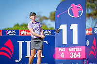 Amy Olson (USA) during the third round of the ISPS Handa Women&rsquo;s Australian Open, The Grange Golf Club, Adelaide SA 5022, Australia, on Saturday 16th February 2019.<br /> <br /> Picture: Golffile | David Brand<br /> <br /> <br /> All photo usage must carry mandatory copyright credit (&copy; Golffile | David Brand)