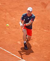31-05-12, France, Paris, Tennis, Roland Garros, Andy Murray