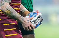 Picture by Allan McKenzie/SWpix.com - 15/03/2018 - Rugby League - Betfred Super League - Huddersfield Giants v Hull KR - John Smith's Stadium, Huddersfield, England - Ball, Betfred, branding, abstract.