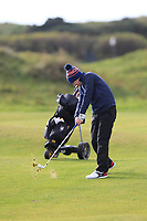 David Kitt (Athenry) on the 10th fairway during Round 3 of the Ulster Boys Championship at Portrush Golf Club, Portrush, Co. Antrim on the Valley course on Thursday 1st Nov 2018.<br /> Picture:  Thos Caffrey / www.golffile.ie<br /> <br /> All photo usage must carry mandatory copyright credit (&copy; Golffile | Thos Caffrey)