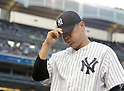 Masahiro Tanaka (Yankees), JUNE 9, 2015 - MLB : New York Yankees starting pitcher Masahiro Tanaka returns his side's bench during a baseball game against the Washington Nationals at Yankee Stadium in New York, United States. (Photo by AFLO)
