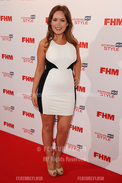 Tania Burr arriving for the FHM 100 Sexiest Women in the World 2013 party at the Sanderson Hotel, London. 01/05/2013 Picture by: Steve Vas / Featueflash