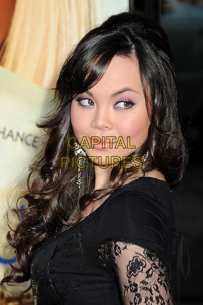 "ANNA MARIE PEREZ DE TAGLE .Attending ""Letters To Juliet"" Los Angeles Premiere held at Grauman's Chinese Theatre, Hollywood, California , USA, .11th May 2010..arrivals portrait headshot black lace looking to side  .CAP/ADM/BP.©Byron Purvis/AdMedia/Capital Pictures."