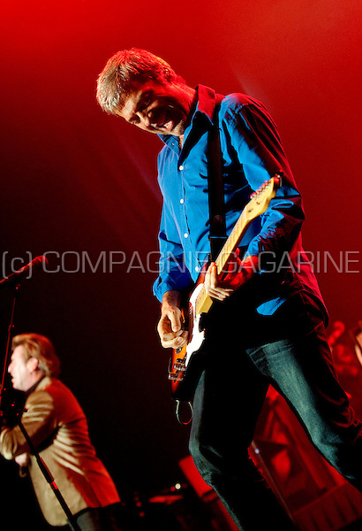 Belgian band Soulsister at the Haiti Lavi 12-12 benefit concert in the Bozar, Brussels (Belgium, 15/02/2010)