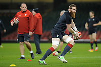 Jake Ball of Wales during the Wales Captains Run at The Principality Stadium in Cardiff, Wales, UK. Friday 16 November 2018
