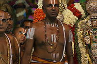 Tirupati Temple Festival... Gold Deity is brought out of the temple only 3 times a year... this year it is the 13th, 14th and 15th of May.  500,000 Hindus worship the god of this temple as their god.  Many have given their weight in gold over the years.