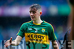 Sean O'Leary Kerry players after defeating Cavan in the All Ireland Minor Semi Final in Croke Park on Sunday.