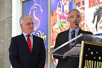 Paul Krekorian &amp; Mitch O'Farrell  at the the Hollywood Walk of Fame star ceremony honoring French singer Charles Aznavour on Hollywood Boulevard, USA 24 Aug. 2017<br /> Picture: Paul Smith/Featureflash/SilverHub 0208 004 5359 sales@silverhubmedia.com