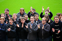 Sunday, 25 November 2012<br /> Pictured: Only Boys Aloud<br /> Re: Barclays Premier League, Swansea City FC v Liverpool at the Liberty Stadium, south Wales.