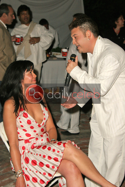 Maria Conchita Alonso is serenaded<br /> at Maria Conchita Alonso's Surprise Birthday Party, Private Residence, Los Angeles, CA 06-25-05<br /> David Edwards/DailyCeleb.Com 818-249-4998<br /> EXCLUSIVE