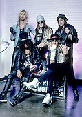 Dec 17, 1987: GUNS N' ROSES - Photosessionn Minnesota MN USA