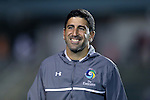 28 September 2016: Cosmos assistant coach Alecko Eskandarian. The Carolina RailHawks hosted the New York Cosmos at WakeMed Soccer Park in Cary, North Carolina in a 2016 North American Soccer League Fall Season match. The Cosmos won the game 2-0.