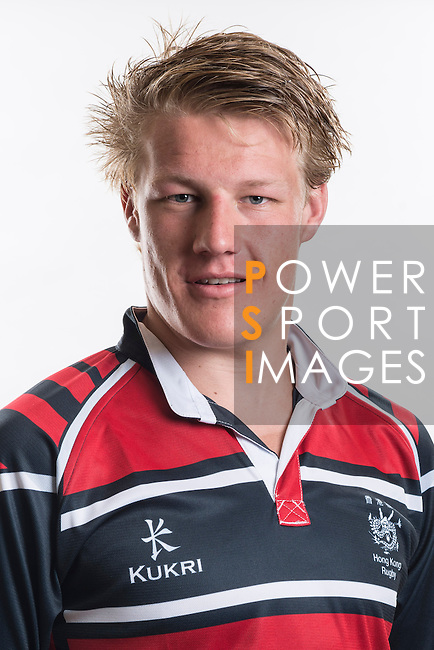Hong Kong Junior Squad team member Mike Parfitt poses during the Official Photo Session Day at King's Park Sports Ground ahead the Junior World Rugby Tournament on 25 March 2014. Photo by Andy Jones / Power Sport Images