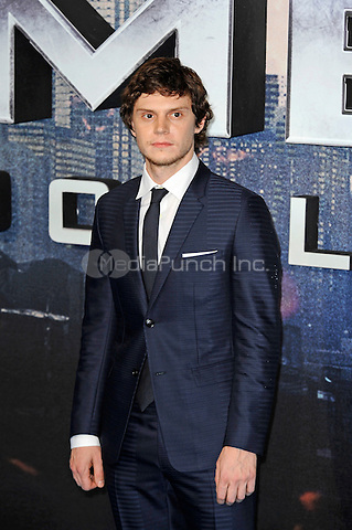 LONDON, ENGLAND - MAY 9: Evan Peters attending the 'X-Men: Apocalypse' - Global Fan Screening at BFI IMAX in London on May 9, 2016 in London, England.<br /> CAP/MAR<br /> &copy; Martin Harris/Capital Pictures /MediaPunch ***NORTH AND SOUTH AMERICAN SALES ONLY***