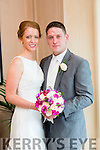 Aisling Curran, Blennerville Tralee, daughter of Michael and Philomena Curran, and Donal Coppinger, Bantry, son of Danny and Noreen Coppinger, were married at  Curraheen Church by Fr. Francis Nolan on Saturday 11th July 2015 with a reception at Ballygarry House Hotel