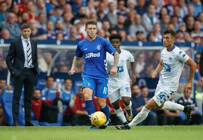 12.07.18 Rangers v FK Skhupi: Josh Windass